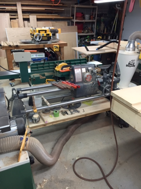 My old Shopsmith has been retired to my lathe. I don't do much lathe work so it's certainly serves well as that.